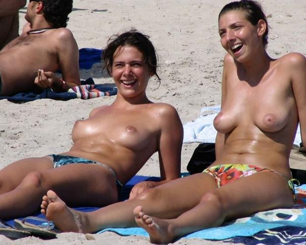 Sonnenbaden nackt
